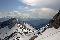Pilatus mountain (Davide Restivo) Tags: blue sky panorama cloud white mountain snow mountains slr rock by clouds digital montagne canon eos rebel switzerland reflex kiss rocks europa europe nuvole nuvola view blu azure luzern peak pilatus covered cielo neve summit vista dslr svizzera roccia azzurro alpi montagna bianco vette lucerna roccie vetta kulm innevata innevato xti 400d innevate krienz