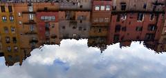reflexes de l'onyar (daniprados) Tags: girona reflected reflejos reflexes onyar casesdelonyar