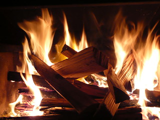 My fire - kindling
