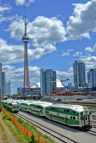 Image result for go trainand CN tower