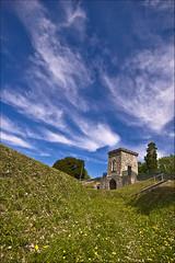 Hillsborough Gatehouse (Etrusia UK) Tags: castle monument geotagged landscapes nikon unitedkingdom sigma wideangle bluesky northernireland 1020mm pictureperfect ulster hillsborough lowangle gatehouse coantrim sigmalens d80 1020mmlens sigma1020mmlens nikond80 hillsboroughfort awesomepictureaward geo:lat=54460653 geo:lon=6080675 artilleryfort