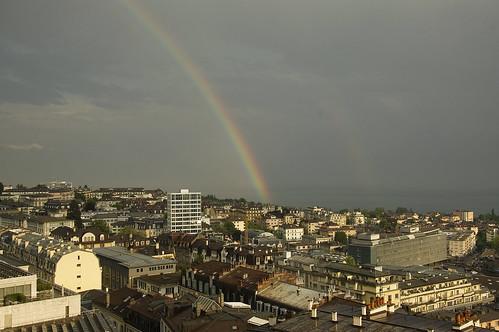 Rainbow Over Lausanne