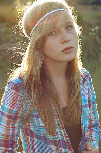 [フリー画像] 人物, 女性, 金髪・ブロンド, 200807081500