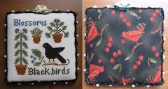 LHN blossoms & blackbirds