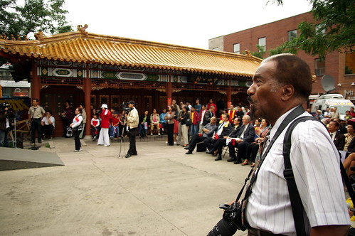 Beijing Olympics @ Montréal Chinatown