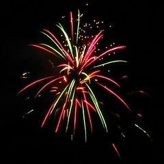 Ola Belle fireworks