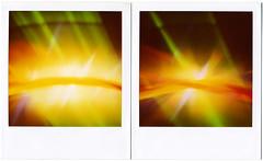 Discasséque. (softlad - resting between engagements) Tags: polaroid sx70 disco break 600 sonar expired fracture discotheque expiredfilm polaroidsx70 discothèque studio09