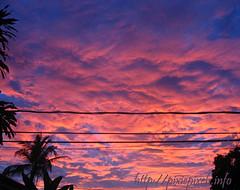 May 10, 2011 sunset sky