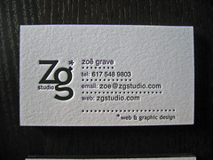 Zoë Grave Edge Colored Cards