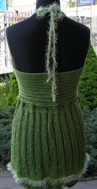 Tył zielonookiej