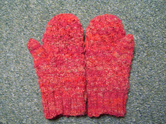 red mittens
