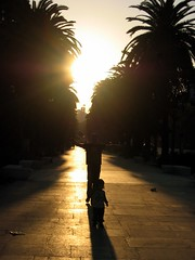Abrazar (Laureano Moreno) Tags: parque sunset shadow sun man love sol sunshine happy kid hug shadows father happiness son palmeras enjoy felicidad sunrays embrace parc mlaga sfumato rayos supershot superbmasterpiece diamondclassphotographer sfumatto
