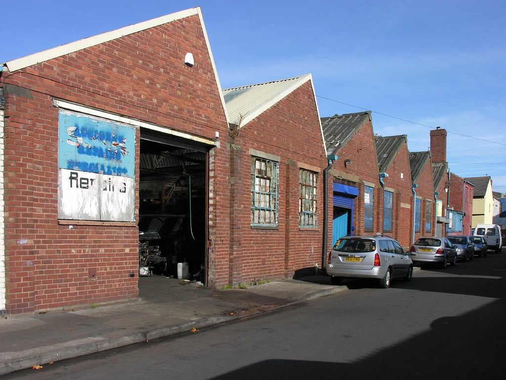 The Old Hall Works of the Former J&J Wiggin Limited
