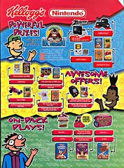 Kellogg's / Nintendo ..Powerful Prizes!,Awesome Offers!,On-Pack Plays! (( 1995  )) (tOkKa) Tags: boy game apple monkey tv corn power rice cinnamon tiger treats nintendo donkey taz mini games clash tony coco buns rooster pocket jacks cocoa flakes cornelius pops mighty rangers raisin kelloggs 62 frosted bran maro wario miniwheats supermario64 virtualboy crispies mariotennis krispies donkeykongcountry morphin redalarm snapcracklepop galacticpinball teleroboxer n64mariolugikoopa contestwii uniracerszenith jelloggs
