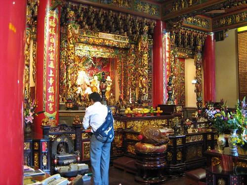 Inside Jingfu Temple