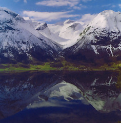 Reflections (Maron) Tags: fab lake mountains water norway reflections soe stryn blueribbonwinner supershot 25faves mywinners abigfave platinumphoto anawesomeshot ultimateshot superbmasterpiece supermarion diamondclassphotographer flickrdiamond theunforgettablepictures theunforgettablepicture theperfectphotographer goldstaraward marionnesje