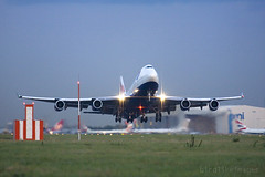 Boeing 747 British Airways (Greg Bajor) Tags: london airplane airport heathrow aircraft jet images off aeroplane commercial take british boeing airways gregory taking 747 lhr birdlike bajor birdlikeimages gregbajor