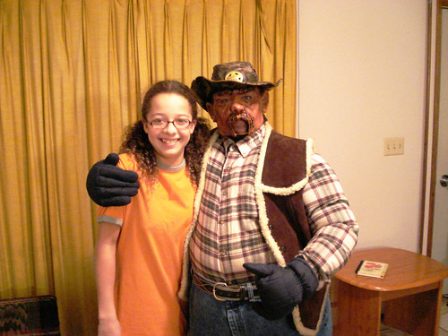 Cowboy with Principal's Daughter