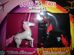 good vs evil unicorns