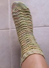 Marigold sock #1