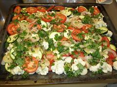 Provensalsk grönsaksgratäng