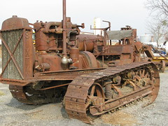 Caterpillar Sixty (dbro1206) Tags: old rust rusty equipment caterpillar machinery resting bulldozer decayed rouille