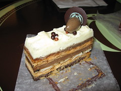 Bouchon Bakery: Mocha millefeuille (another view)