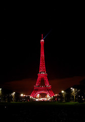 Tour Eiffel en Rouge