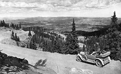 The Automobile Industry - 1923 (Jasperdo) Tags: auto road old mountain history car magazine photo highway automobile scenery colorado historic transportation pikespeak nationalgeographic 1923 pikespeakhighway automobileindustry nldrew