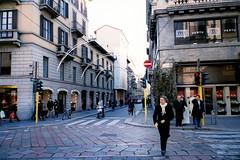 Via Montenapoleone i Milano