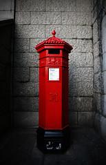got a stamp? (ion-bogdan dumitrescu) Tags: red london towerbridge postoffice postbox royalmail 630pm bitzi canoneos400d canoneosdigitalrebelxti ibdp findgetty ibdpro wwwibdpro ionbogdandumitrescuphotography