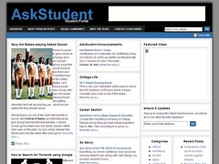 Banner ad on AskStudent