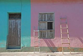 pastel colors, Trinidad, Cuba