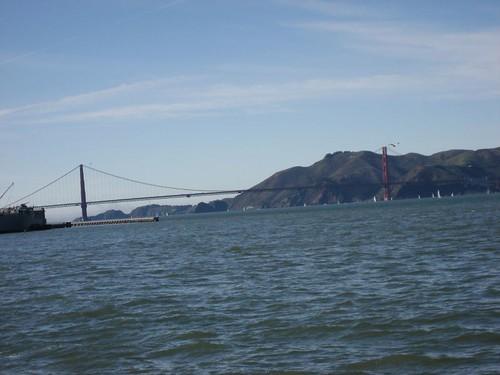 Allá, a lo lejos, el Golden Gate