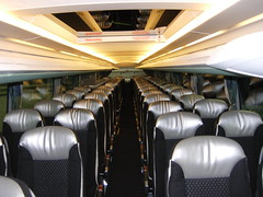Interior of a Setra S431 DT (Reto Kurmann) Tags: bus motorcoach setra s431dt buchertravel bucherreisen
