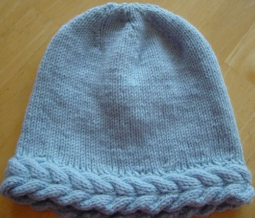 Knotting Noodles: Liffey (Cable&Lace Knitted Hat)