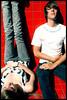 melbourne. (tassj) Tags: boy red girl wall oliver central melbourne myspace jeans oli layingdown kahlia sttingup