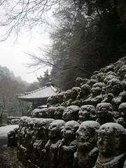 2008 Feb.  (cigale.lu ) Tags: winter snow kyoto   giouji