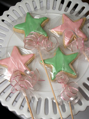 wand cookies (nikkicookiebaker) Tags: decorated