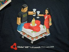 Adobe AIR Launch TShirt