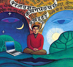 Sanskrit blogging on the rise by Debashish Chakrabarty
