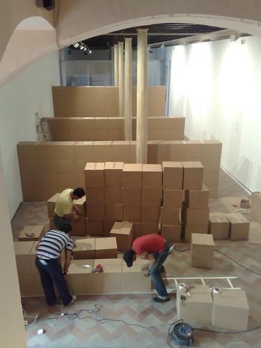 montaje muro