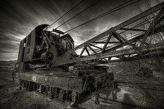 Heavy Metal (kevin.crafts) Tags: abandoned metal rural train boulder hdr dutone sigma1020mm