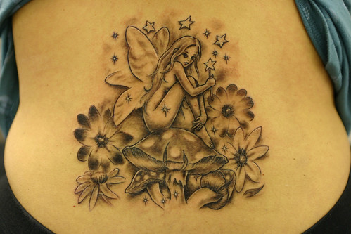 Fairie and Stars Tattoo 2 by The Tattoo Studio