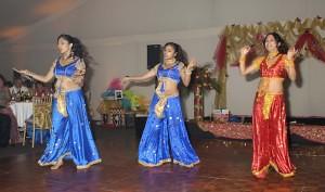 Honey Kalarias dancers