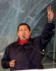 Hugo Chavez in visita a Milano (rogimmi) Tags: presidente italia milano venezuela hugochavez cameradellavoro