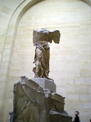Winged Victory of Samothrace /     (mitko_denev) Tags: paris france art statue greek ancient louvre victory nike sculture winged samothrace           yahoo:yourpictures=sculptures