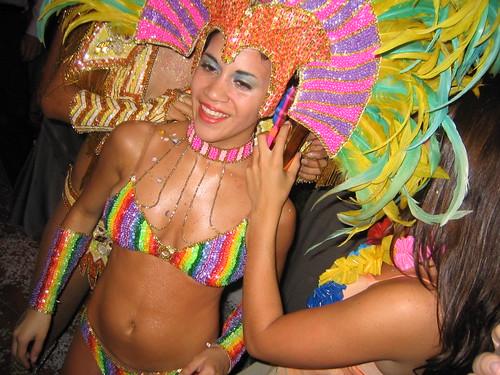 Argentina - carnival dancers