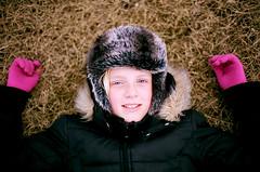 Agla Sól (Pezti) Tags: pink blue portrait film girl grass hat canon 50mm prime iceland spring eyes fuji ae1 superia f14 blueeyes reykjavik gloves program gras 100 expired pinkgloves reykjavík canonae1program ísland fd sól furhat canonfd50mmf14 agla bleikt expiredfujisuperia100 hanskar bleikir bleikirhanskar canonfd50mmf14f14