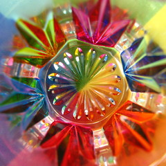 Looking inside a Murano shot glass (unedited) (Mike G. K.) Tags: lighting light abstract flower color colour macro glass colors look closeup catchycolors circle square design mix rainbow colorful colours view shot spectrum top vivid symmetry round cylinder hexagon format inside shape effect murano shotglass colorwheel colorfun themagicofcolour colourartaward abstractartaward caleidograph kaleidograph mikegk:gettyimages=submitted